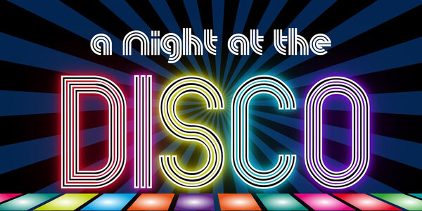 Night at the Disco Web Banner