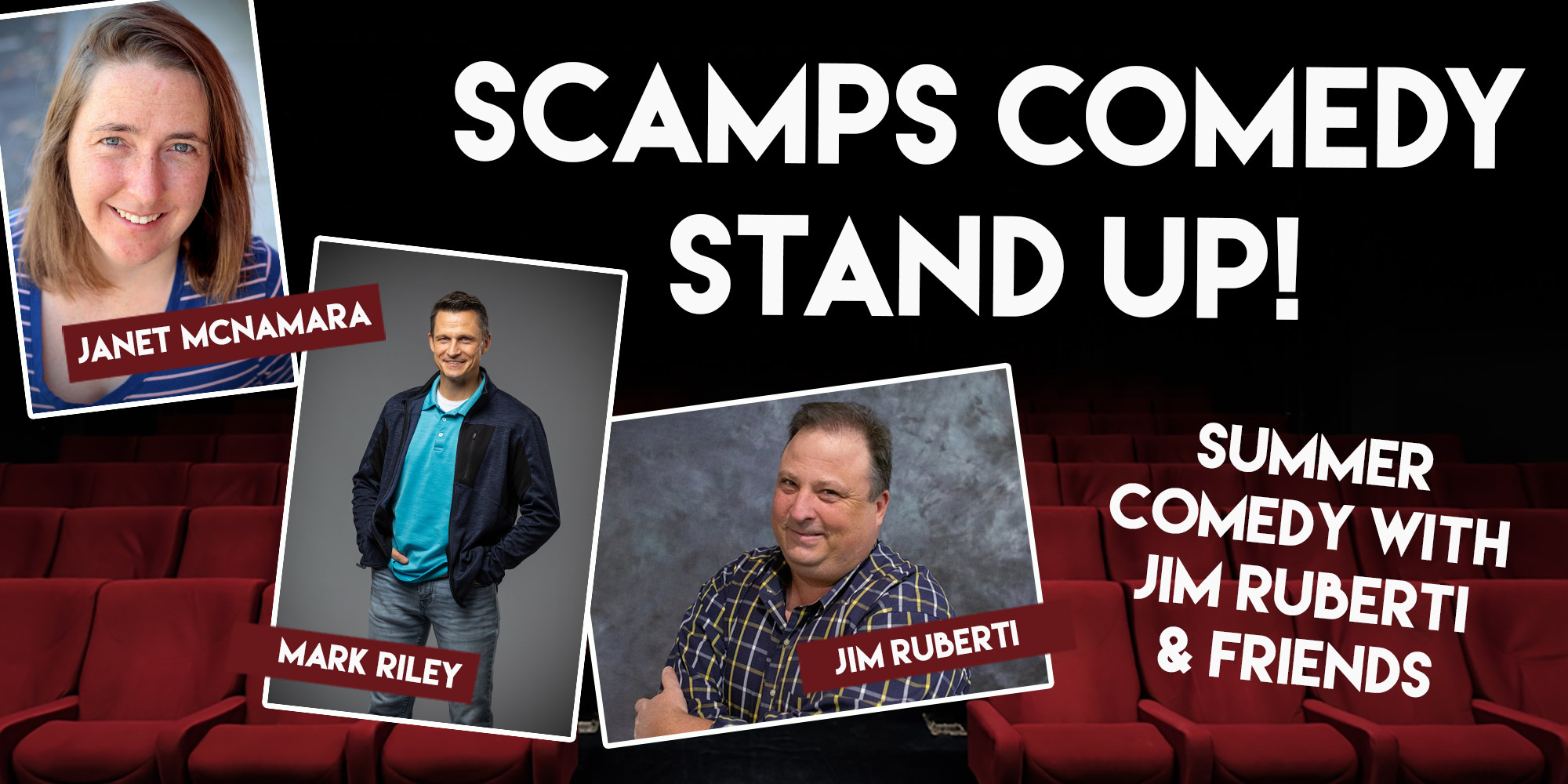 2021 Scamps Summer Comedy Web Header2