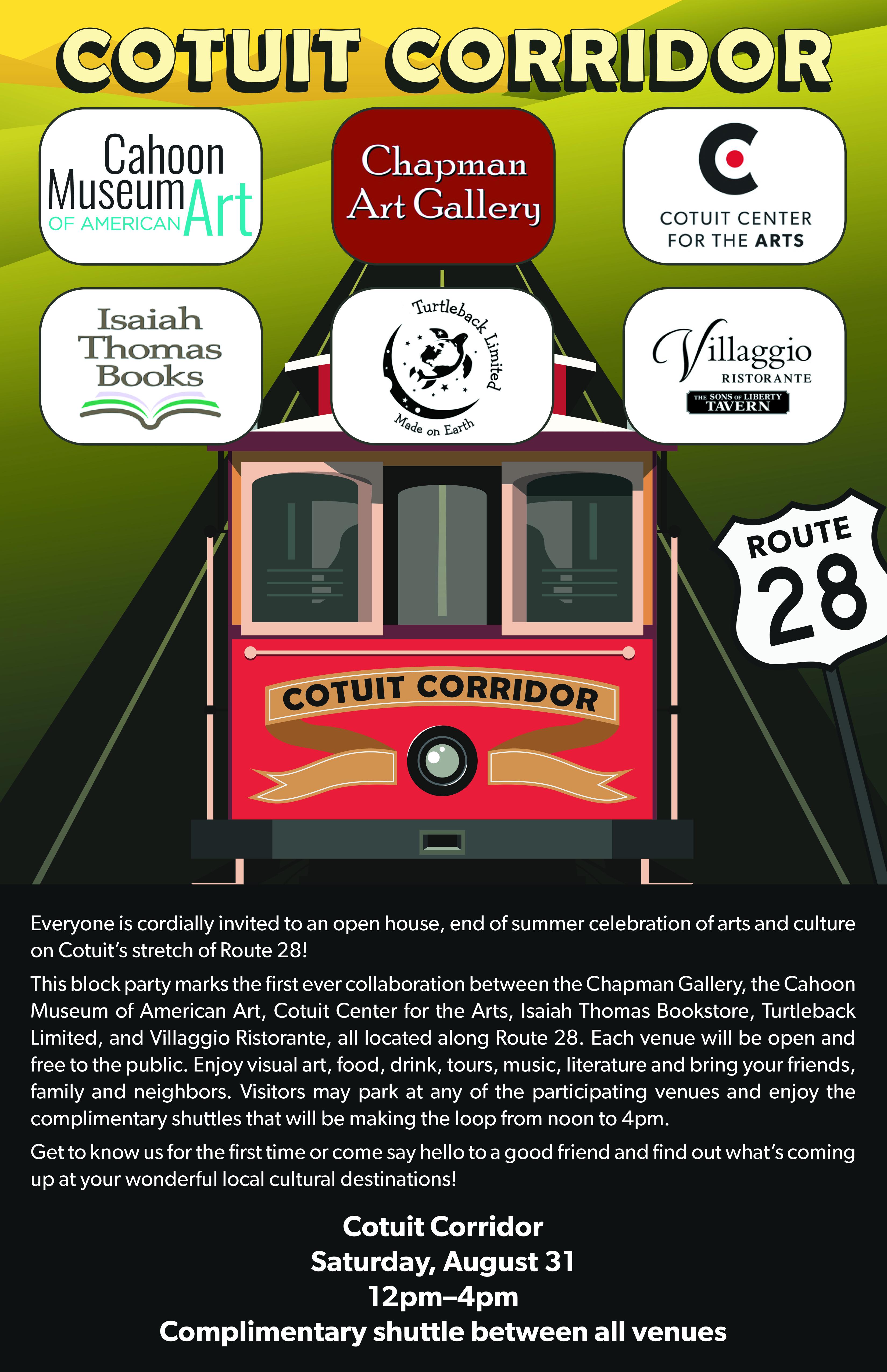 Cotuit Corridor Poster