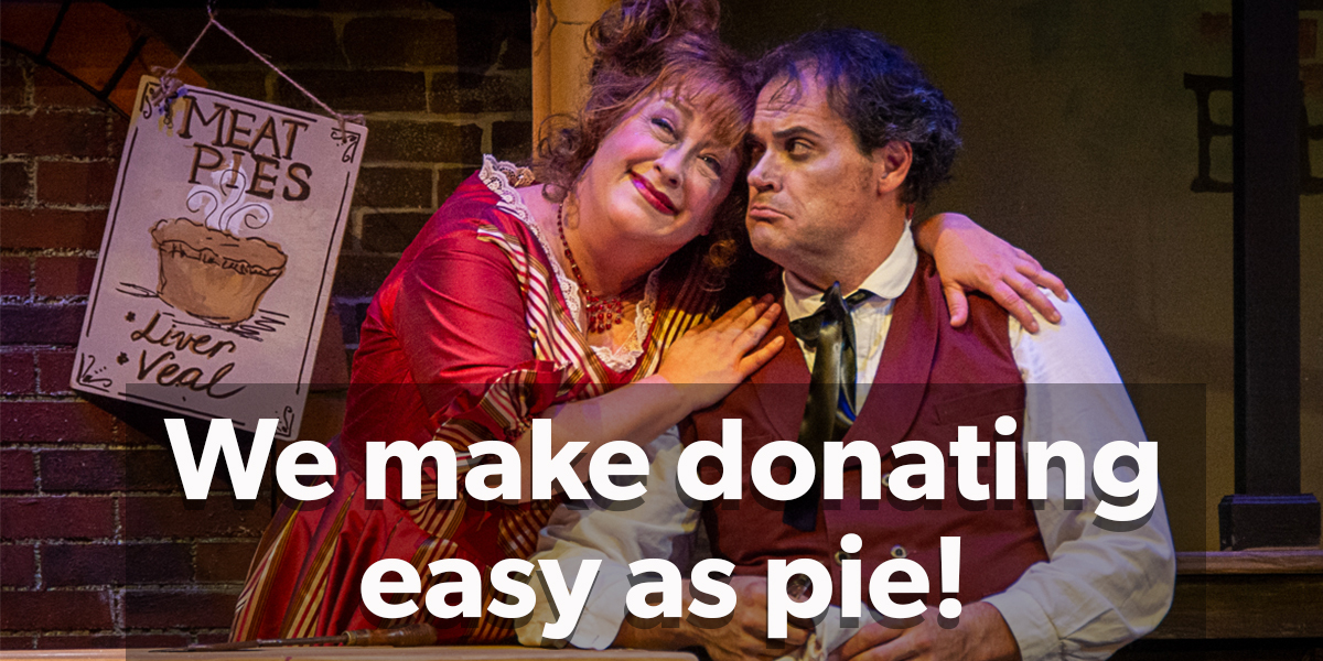 Donating Easy as Pie Sweeney