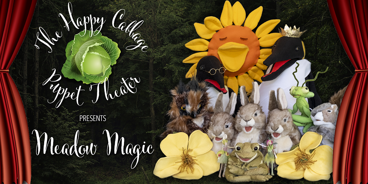 Happy Cabbage Puppet Theater web header