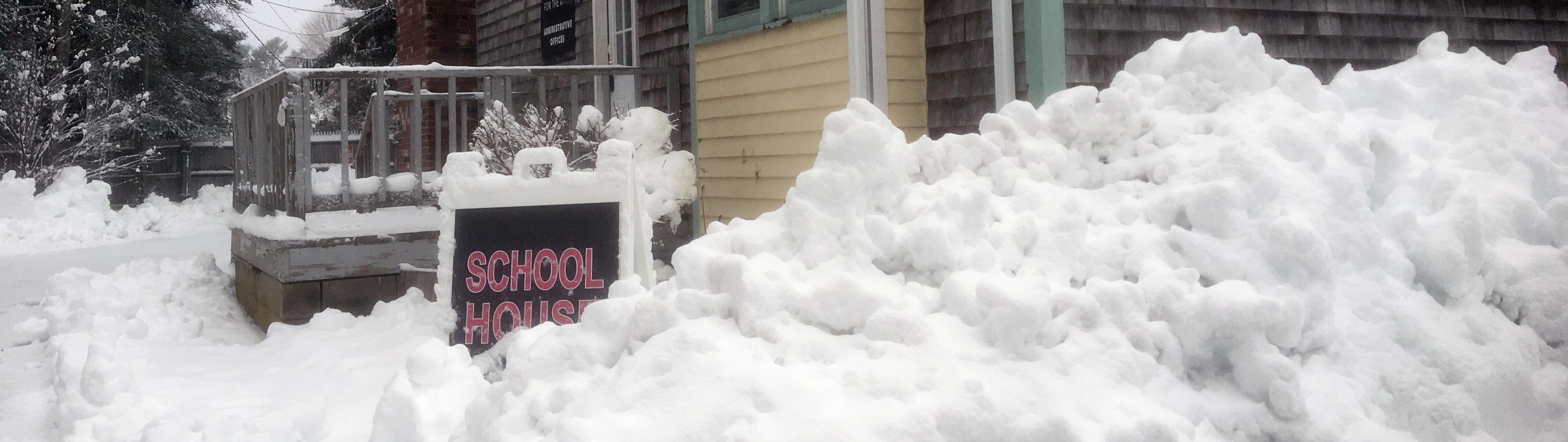 Admin heavy snow narrower