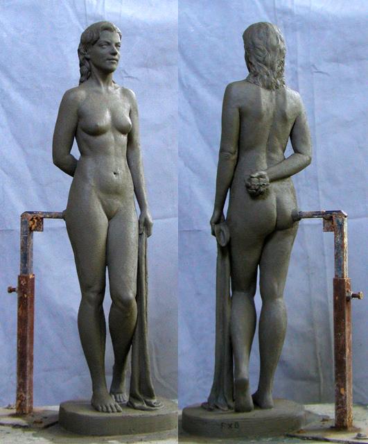 Brownstein sculpture