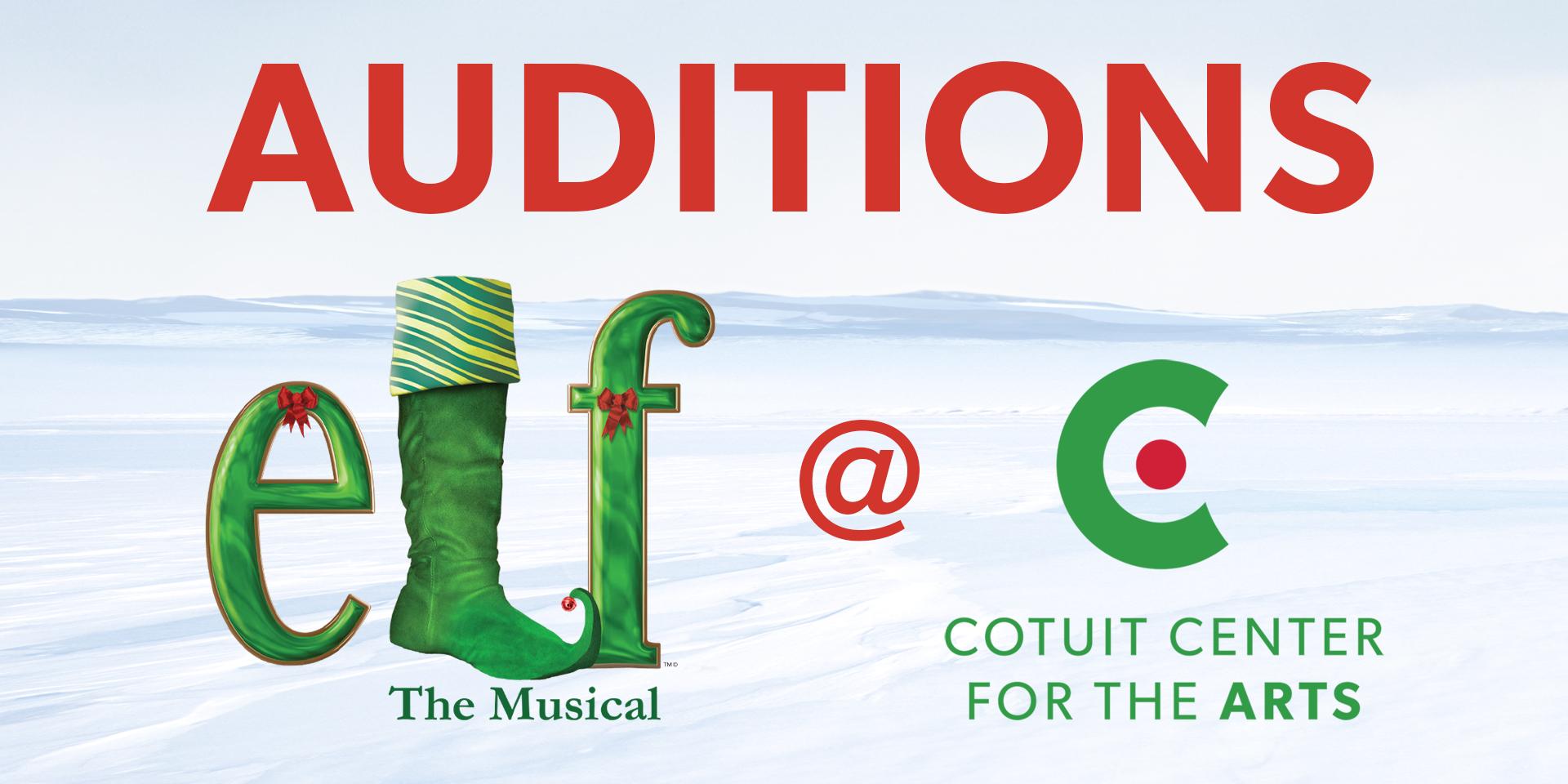 Elf audition web banner